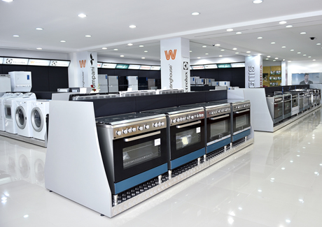 retail market of home appliances electronics The lap of luxury ultra-premium appliances take center stage at the architectural digest design show.